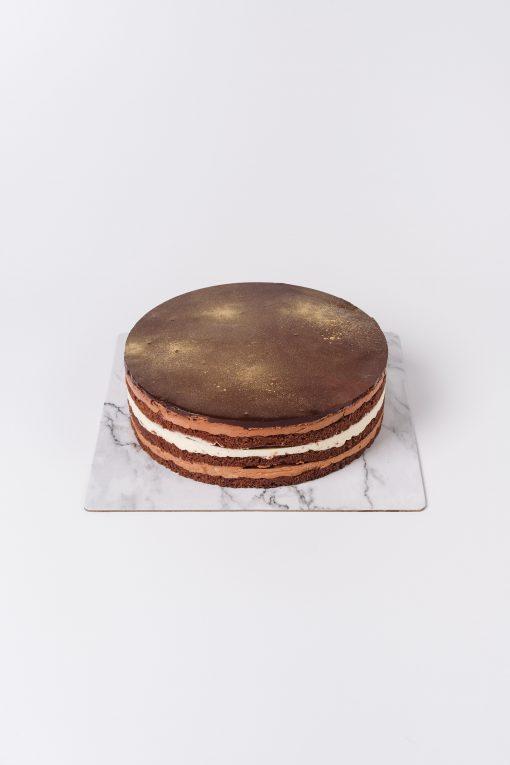 Double Chocolat Birthday Cake