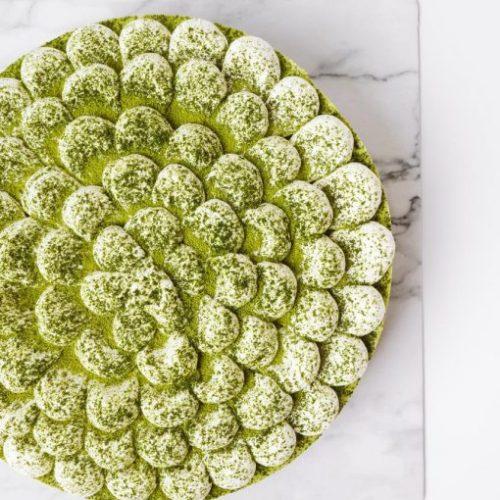 Matcha Chocolat Birthday Cake