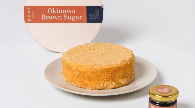 Okinawa Brown Sugar Fromage Grandeur Cheescake