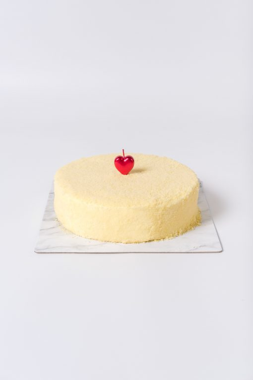 Heart Candy Birthday Candle