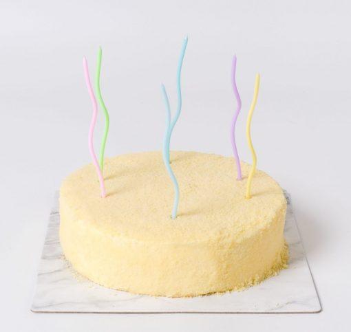 Twirl Pastel Birthday Candle