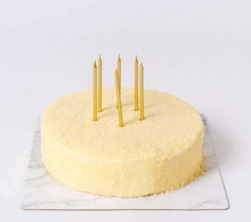 Yellow Gold Birthday Candle