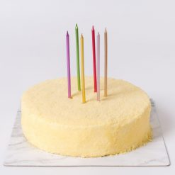 Metallic Set Birthday Candle