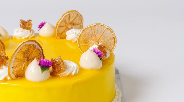 Honey Citroen Birthday Cake